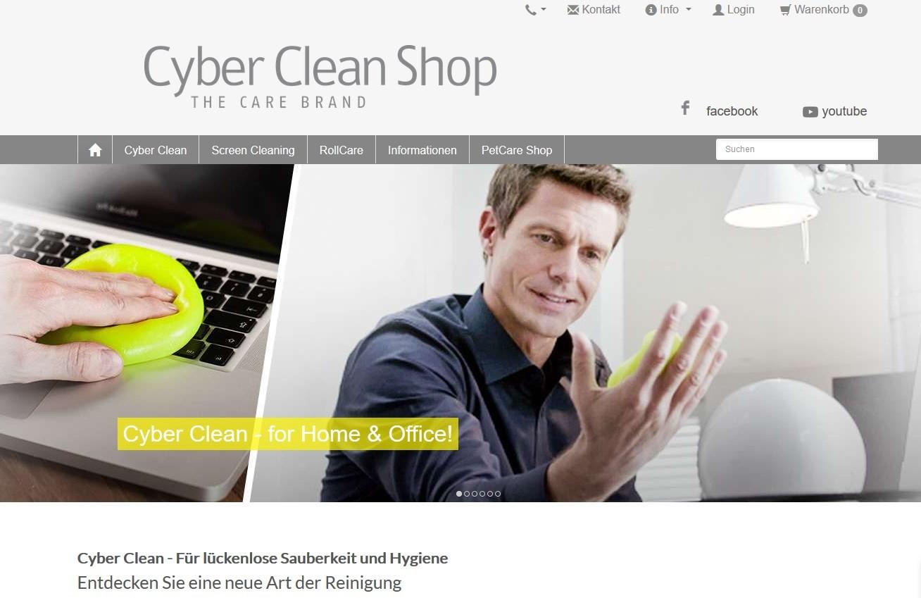 Cybercleanshop Greifswald Design