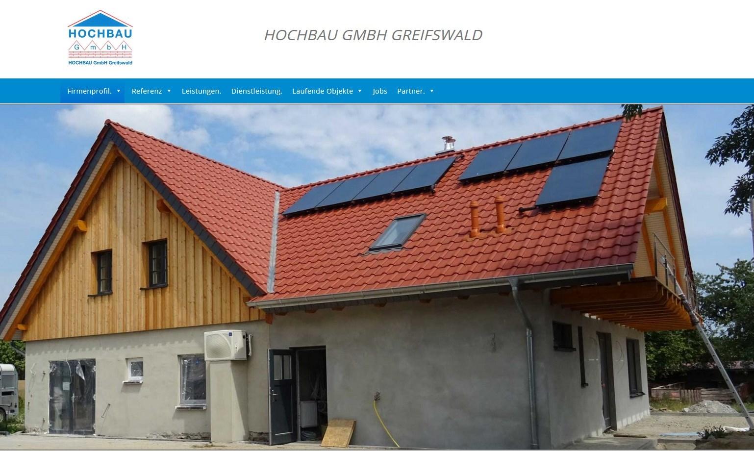 Hochbau GmbH Greifswald   Design