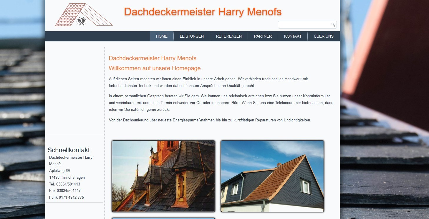 Harry Menofs Greifswald Design